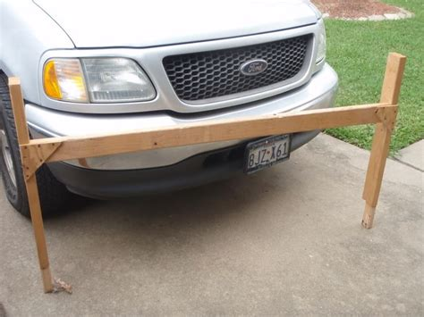 homemade truck rack  xs ford  kayak rack