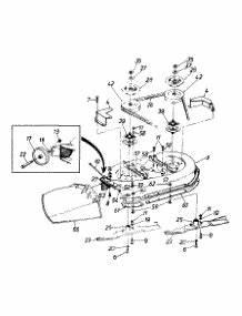 1996 Mtd Riding Lawn Mower Diagram