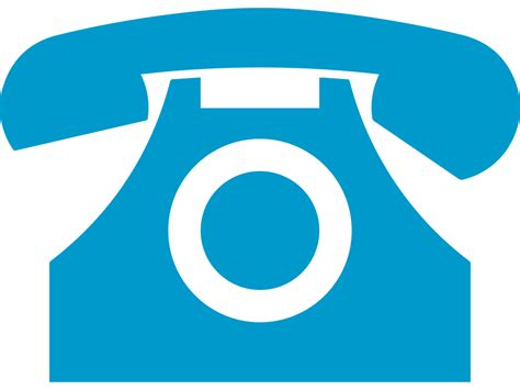 telephone icon png blue blue phone symbol
