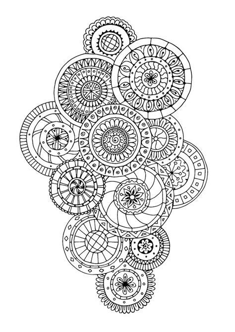 2018 Best images about mandalas à colorier on Pinterest