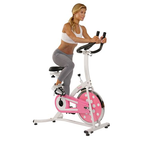 Sunny Health & Fitness P8100 Pink Chain Drive Indoor ...