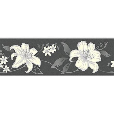 black  silver wallpaper borders gallery