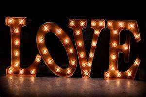 36 love marquee package marquee letter marquee light With marquee love letters