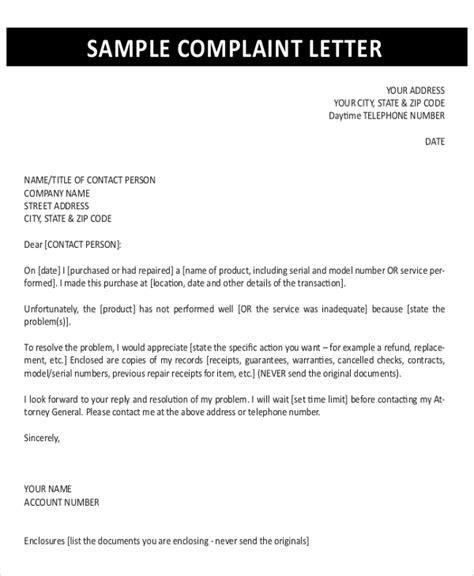 patient complaint response letter sample formal official