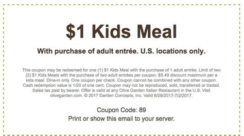 olive garden specials coupons olive garden free meal july 2 2017 grab a