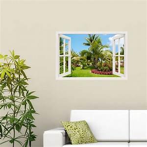 Stickers Muraux Trompe L Oeil : sticker muraux trompe l 39 oeil sticker mural jardin ~ Dailycaller-alerts.com Idées de Décoration