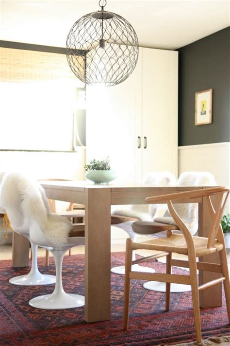 mismatched dining chairs bold decorating ideas