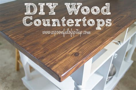 diy wood countertop ideas a spoonful of spit up diy wood quot butcher block