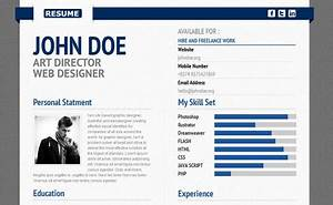 Nice Resume Templates Cv Les 10 Plus Beaux Templates Wordpress Paperblog