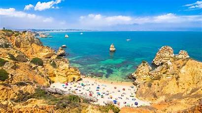 Beaches Algarve Beach Lagos Camilo Portugal Seaside
