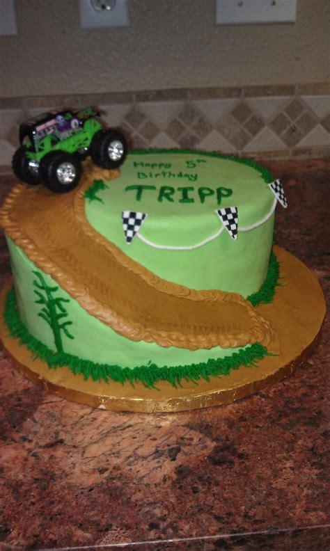 monster truck birthday cake cakecentralcom