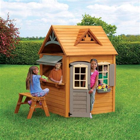 Big Backyard By Solowave by Big Backyard By Solowave 174 Wooden Playhouse