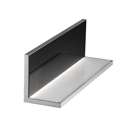 flos applique applique hide l led l 40 cm noir brillant flos