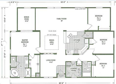 big house floor plans mobile home floor plans wide homes