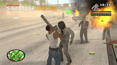 zombie gta san andreas telecharger mod