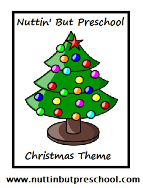 187 preschool theme nuttin but preschool 478   theme cover christmas