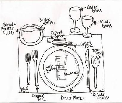 Table Setting Proper Dinner Formal Place Settings