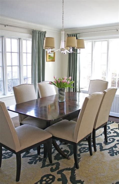 transitional dining room simply modern home beautiful