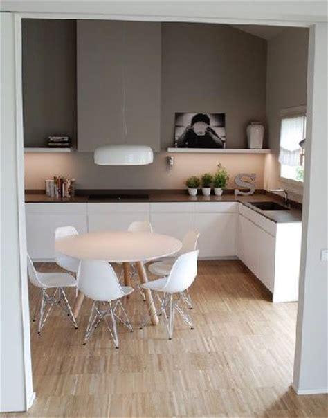 couleur mur cuisine blanche cuisine blanche et peinture grise ambiance scandinave