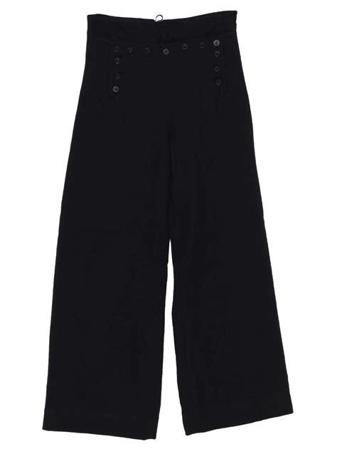 navy  vintage bellbottom pants   navy mens