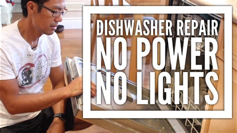 Kitchenaid Dishwasher Grinder by Kitchenaid Dishwasher Repair No Power No Lights And