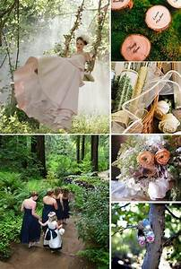 memorable wedding a forest theme wedding With enchanted forest wedding ideas
