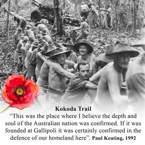 kokoda trail soldiers quotes