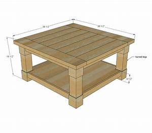 Free Outdoor Coffee Table Plans - WoodWorking Projects & Plans