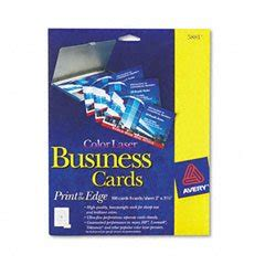 avery business card template 08371 avery ink jet magnetic business cards 10 precut cards
