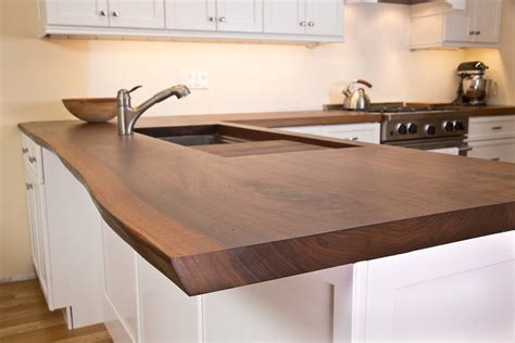 Kitchen Island Sink Ideas - live edge wood slab tables and furniture re co bklyn