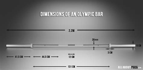 Bar Dimensions by Why You Should Buy Olympic Weights Peck Me Out