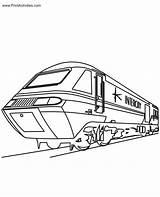 Train Coloring Caboose Trains Printable Zug Ausmalbilder Bullet Eisenbahn Drawing Speed Template Konabeun Malvorlagen Zum Popular Sketch Comments Coloringhome Letzte sketch template