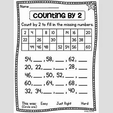 First Grade Math Unit 11 Comparing Numbers Skip Counting And Number Order  Skip Counting
