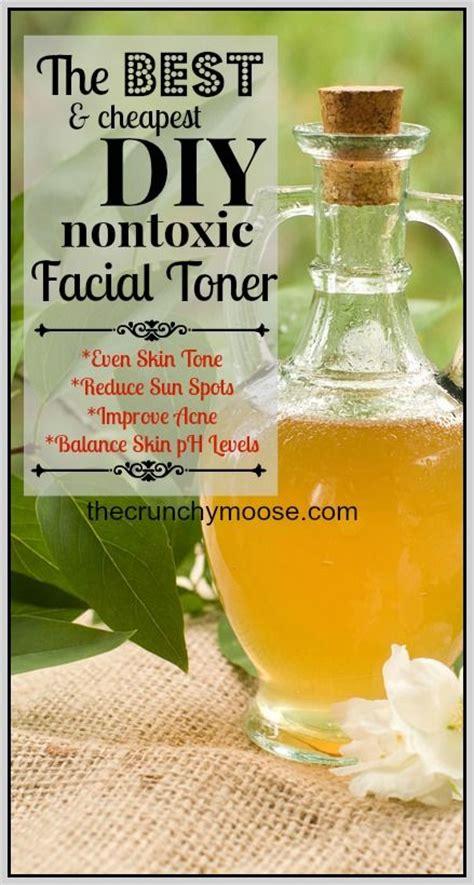 natural diy facial toner recipe apple cider