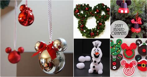 creative diy disney christmas ornaments