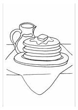 Pancakes Syrup Coloring Pages Additions Newest Printable Freeprintablecoloringpages sketch template