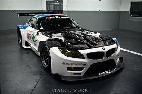 Bmw Z4 V8 by Stance Works The New Alms Bmw Z4 Gte