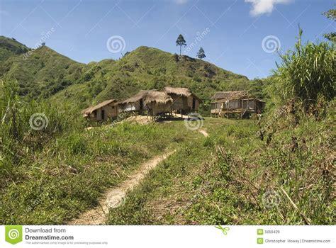 rural village mindanao philippines stock image image  mindanao philippines
