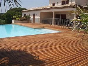 Lame De Terrasse En Composite : terrasse bois composite point p ~ Dailycaller-alerts.com Idées de Décoration