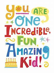 Amazing Kid Birthday Card - outside   Flickr - Photo Sharing!