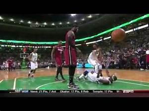 LeBron James MONSTER POSTER DUNK Over Jason Terry! 3/18/13 ...