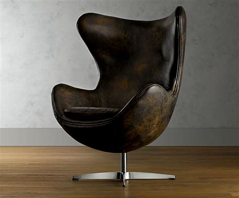1950s leather copenhagen chair cool material