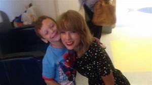 Taylor Swift's surprise visit for 6-year-old boy with ...