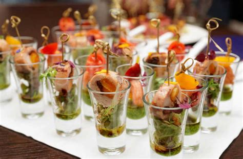 Finger Food Ideas For Wedding Reception That Highlight