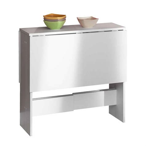 meuble bureau fermé avec tablette rabattable free meuble cuisine table escamotable table manger pliante