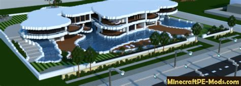 Minecraft Moderne Häuser Map by Fantastic Mansion House Map For Minecraft Pe 1 12 0 1 11