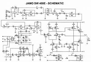 Jamo Sw 400e Sch Service Manual Download  Schematics