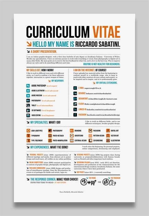 12120 professional creative resume exles 28 amazing exles of cool and creative resumes cv