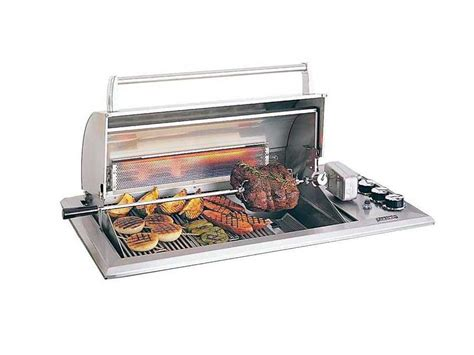 built in countertop grill magic legacy stainless steel regal 30 built in