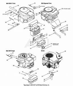 Mtd 13ai608h131  2001  Parts Diagram For Engine Accessories